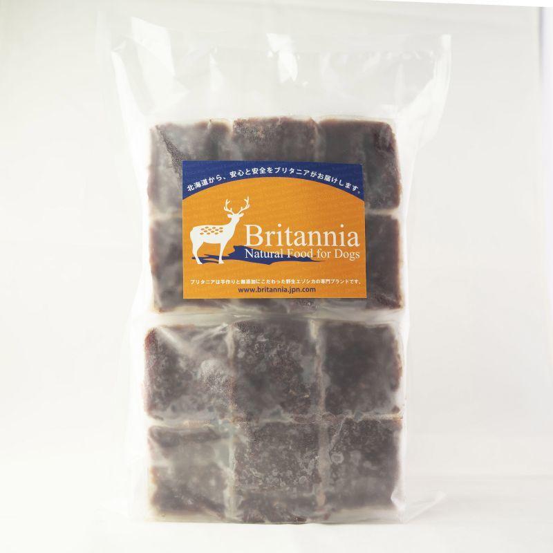 画像1: エゾ鹿肉 ミンチ 1kg(冷凍) (1)