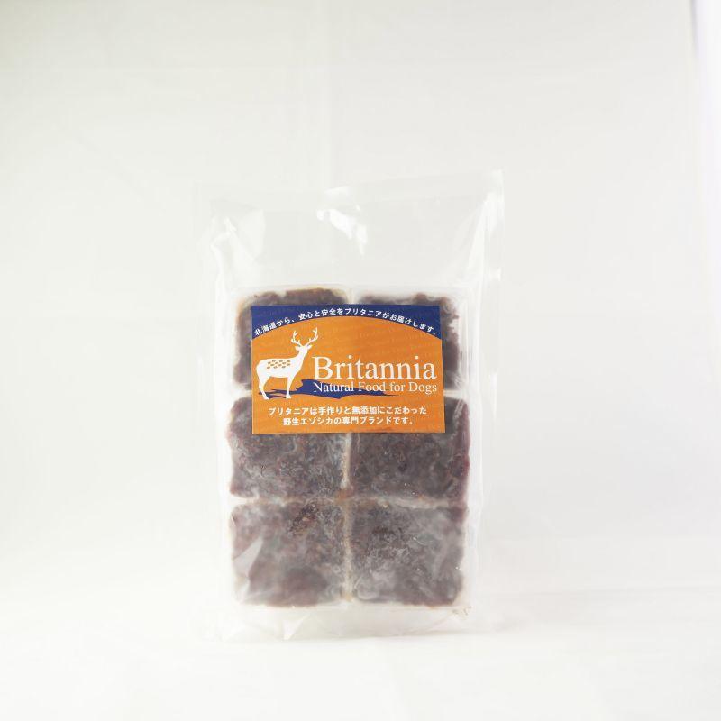 画像1: エゾ鹿肉 ミンチ 250g (冷凍)  (1)