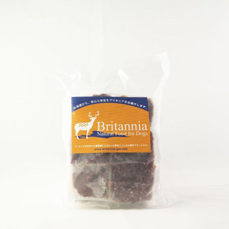 画像1: エゾ鹿肉 ミンチ 500g (冷凍)  (1)